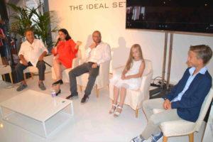 Mira con Vladimiro Riva (Vicenza Film Commission), Corrado Ceron e due piccoli attori.